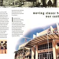 Florida Turnpike Annual Report, architecture, exterior, interior, details