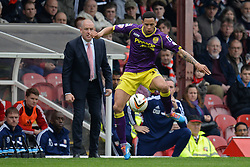 Notts County's forward Nathan Tyson    - Photo mandatory by-line: Mitchell Gunn/JMP - Tel: Mobile: 07966 386802 05/04/2014 - SPORT - FOOTBALL -  Griffin Park - London - Brentford v Notts County- Sky Bet League One