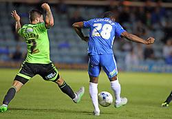 Souleymane Coulibaly of Peterborough United scores the equalising goal - Mandatory byline: Joe Dent/JMP - 07966386802 - 18/08/2015 - FOOTBALL - ABAX Stadium -Peterborough,England - Peterborough United v Sheffield United - Sky Bet League One