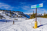 Mammoth Mountain Ski Area, Mammoth Lakes, California USA