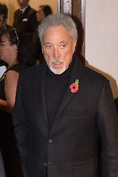 Grosvenor House Hotel, London, November 7th 2016. Luminaries from the music industry gather at the Grosvenor House Hotel for the Music Industry Awards, where this year The Who's Roger Daltrey CBE is honored with the 25th annual MITS award in support of Nordoff Robbins and The BRIT Trust. PICTURED: Tom Jones