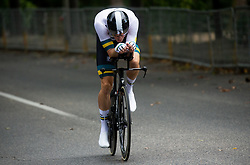 DENNIS Rohan  of Austrialia competes during Men Time Trial at UCI Road World Championship 2020, on September 24, 2020 in Imola, Italy. Photo by Vid Ponikvar / Sportida