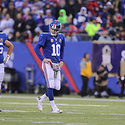 New York Giants quarterback Eli Manning during his side loss during the New York Giants V San Francisco 49ers, NFL American Football match at MetLife Stadium, East Rutherford, NJ, USA. 16th November 2014. Photo Tim Clayton