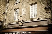La Mère Poulard boutique, Mont Saint-Michel, Normandy, France