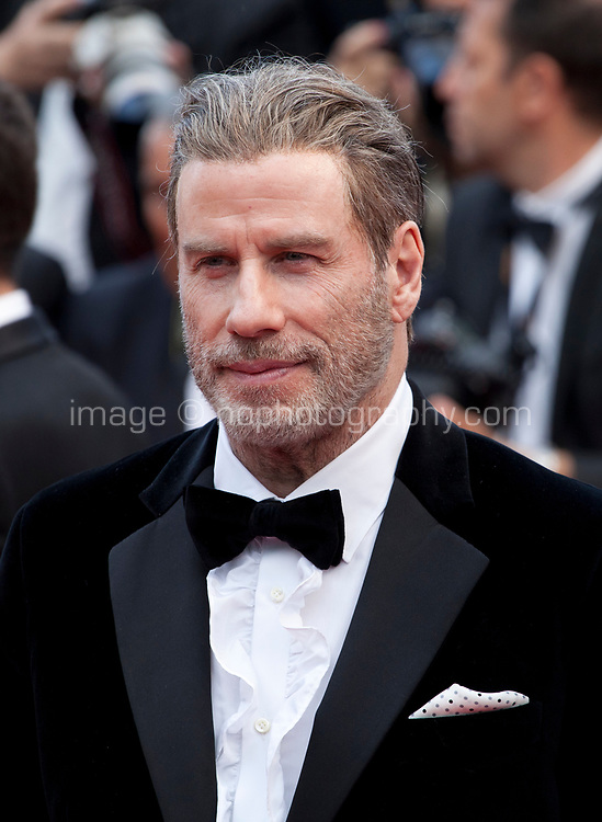 John Travolta at the Solo: A Star Wars Story gala screening at the 71st Cannes Film Festival, Tuesday 15th May 2018, Cannes, France. Photo credit: Doreen Kennedy