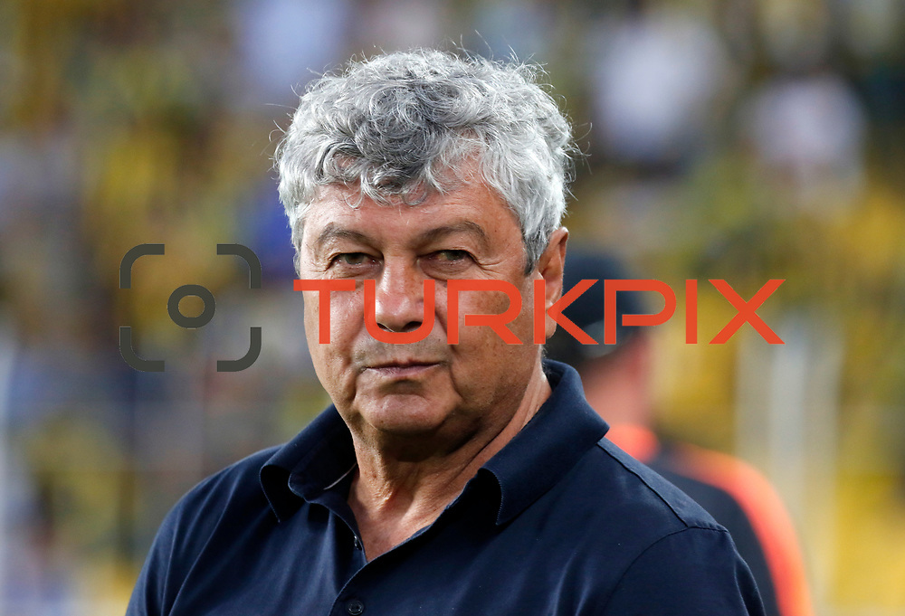 Shakhtar Donetsk's headcoach Mircea Lucescu during their UEFA Champions league third qualifying round first leg soccer match Fenerbahce between Shakhtar Donetsk at the Sukru Saracaoglu stadium in Istanbul Turkey on Tuesday 28 July 2015. Photo by Aykut AKICI/TURKPIX