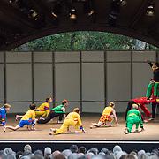 "Mark Morris Dance Group perfoms ""Empire Garden"" at Libbey Bowl on June 7, 2013 in Ojai, California."