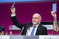 20 NOV 2017, BERLIN/GERMANY:<br /> Volker Geyer, dbb, Stellv. Bundesvorsitzender, Gewerkschaftstag Deutscher Beamtenbund und Tarifunion, Estrell Convention Center<br /> IMAGE: 20171120-01-267<br /> KEYWORDS: dbb