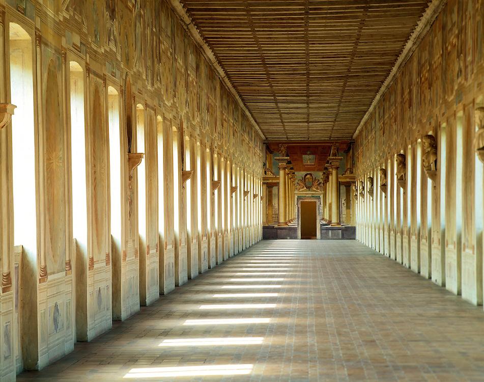 Sabbioneta (MN) - La città ideale di Vespasiano Gonzaga - La Galleria degli Antichi