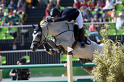 Larocca Jose Maria, ARG, Cornet Du Lys<br /> owner of the horse of Jerome with arms in the air<br /> Olympic Games Rio 2016<br /> © Hippo Foto - Dirk Caremans<br /> 14/08/16