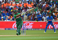 Cricket - 2019 ICC Cricket World Cup - Group Stage: Bangladesh vs. India<br /> <br /> Bangladesh's Sabbir Rahman clean bowled by India's Jasprit Bumrah for 36, at Edgbaston<br /> <br /> COLORSPORT/ASHLEY WESTERN