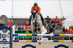 Van De Mheen Rowen, NED, Q Verdi<br /> European Jumping Championship Children<br /> Zuidwolde 2019<br /> © Hippo Foto - Dirk Caremans<br /> Van De Mheen Rowen, NED, Q Verdi