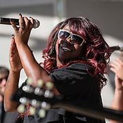 NLD/Amsterdam/20130818 - Optredenn Berget Lewis in het Vondelpark Amsterdam,