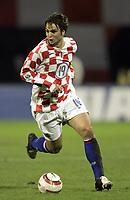 Fotball<br /> VM-kvalifisering<br /> Croatia / Kroatia v Sverige <br /> 08.10.2005<br /> Foto: Dppi/Digitalsport<br /> NORWAY ONLY<br /> <br /> NIKO KRANJCAR (CRO)