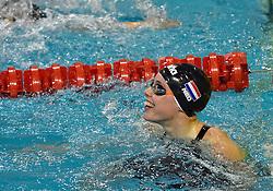 05-04-2015 NED: Swim Cup, Eindhoven<br /> Femke Heemskerk wint het koningsnummer de 100 meter