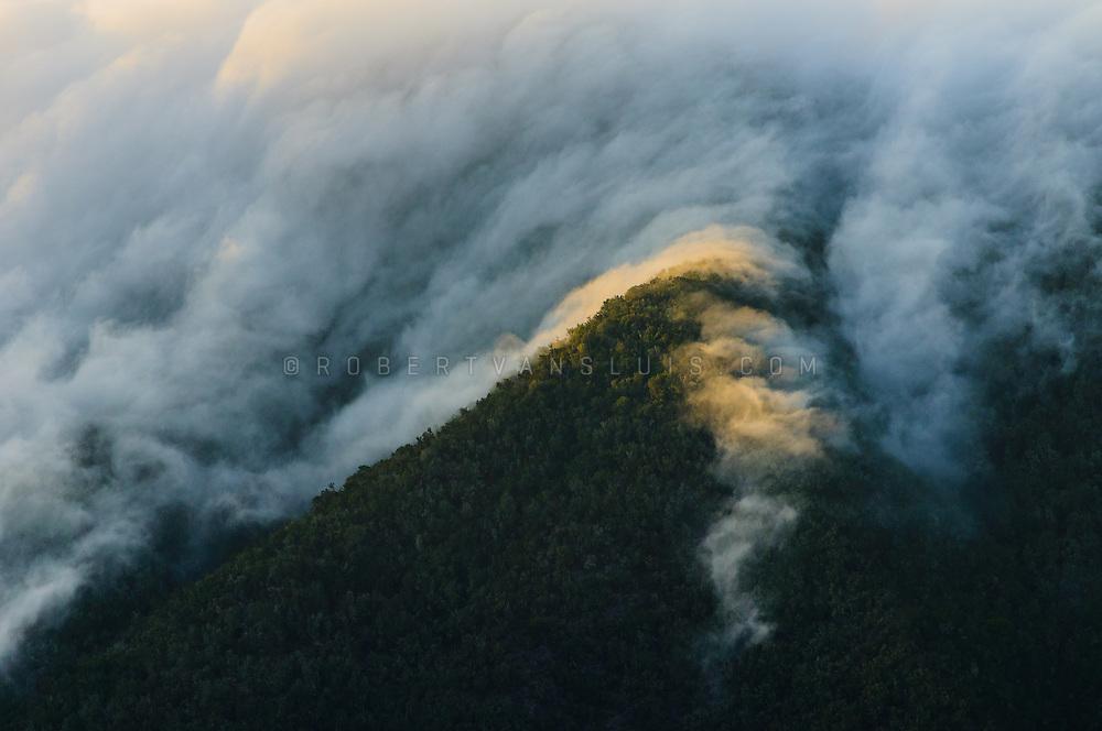 Clouds rolling in, La Gomera, Canary Islands