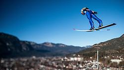 31.12.2016, Olympiaschanze, Garmisch Partenkirchen, GER, FIS Weltcup Ski Sprung, Vierschanzentournee, Garmisch Partenkirchen, TRaining, im Bild Manuel Fettner (AUT), mit einem Tilt & Shift Objektiv fotografiert // Manuel Fettner of Austria photographed with a Tilt & Shift lens during his Practice Jump for the Four Hills Tournament of FIS Ski Jumping World Cup at the Olympiaschanze in Garmisch Partenkirchen, Germany on 2016/12/31. EXPA Pictures © 2016, PhotoCredit: EXPA/ JFK