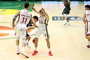 Raduljica Miroslav, Dragic Zoran<br /> EA7 Olimpia Milano - Cantina Due Palme Brindisi<br /> Poste Mobile Final Eight F8 2017 <br /> Lega Basket 2016/2017<br /> Rimini, 16/02/2017<br /> Foto Ciamillo-Castoria/A. Gilardi