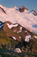 Glaciers on Mount Baker, North Cascades Washington