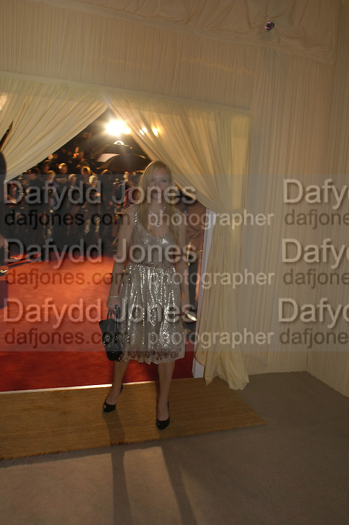 NATHALIE PRESS. The London party on the Eve of the Baftas hosted by United Pictures and Variety to benefit Lepra. Sponsored by Steinmetz, Chatila jewellers, and E Entertainment. Spencer House. St. james's Place. London. 18 February 2006. ONE TIME USE ONLY - DO NOT ARCHIVE  © Copyright Photograph by Dafydd Jones 66 Stockwell Park Rd. London SW9 0DA Tel 020 7733 0108 www.dafjones.com