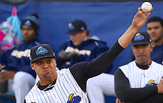 Trenton Thunder vs. Richmond Flying Squirrels 7 April 2018