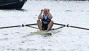 Henley-on-Thames. United Kingdom.  2017 Henley Royal Regatta, Henley Reach, River Thames. <br /> Final Princess Royal Challenge Cup. Final, winner. Annekatrin THIELE<br /> <br /> 15:00:01  Sunday  02/07/2017   <br /> <br /> [Mandatory Credit. Peter SPURRIER/Intersport Images.