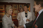 Princess Alexandra, Alison Vaissiere, Penny Marks and William Drummond. The opening  day of the Grosvenor House Art and Antiques Fair.  Grosvenor House. Park Lane. London. 14 June 2006. ONE TIME USE ONLY - DO NOT ARCHIVE  © Copyright Photograph by Dafydd Jones 66 Stockwell Park Rd. London SW9 0DA Tel 020 7733 0108 www.dafjones.com