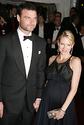 May 07, 2007 - New York, NY, USA - Actors LIEV SCHREIBER and NAOMI WATTS at the Costume Institute Gala celebrating Poiret: King of Fashion, an exhibition at the Metropolitan Museum of Art. (Credit Image: © Nancy Kaszerman/ZUMA Press)