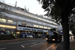 Lotus Road Stadium - Photo mandatory by-line: Dougie Allward/JMP - Mobile: 07966 386802 - 27/10/2014 - SPORT - Football - London - Loftus Road - Queens Park Rangers v Aston Villa - Barclays Premier League