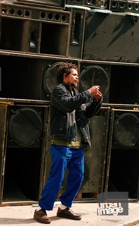Speaker Rig - Notting Hill Carnival Sound System - 2005