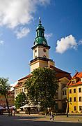 Klasycystyczny ratusz, Jelenia Góra, Polska<br /> Classical town hall, Jelenia Góra, Poland
