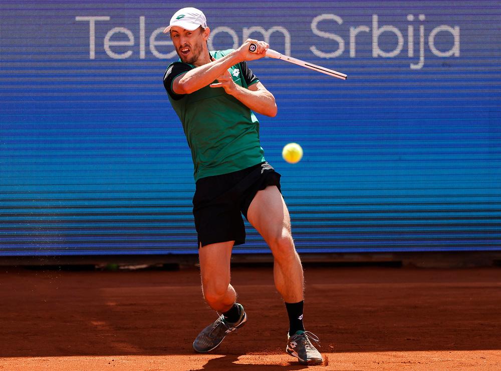 Tennis-ATP Serbia Open Belgrade 2021<br /> John Millman (AUS) v Daniel Taro (JPN)<br /> Beograd, 22.04.2021.<br /> foto: Srdjan StevanovicStarsportphoto ©