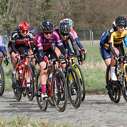 14-03-2021: Wielrennen: GP Oetingen: Oetingen: Amy Pieters: Nancy van der Burg
