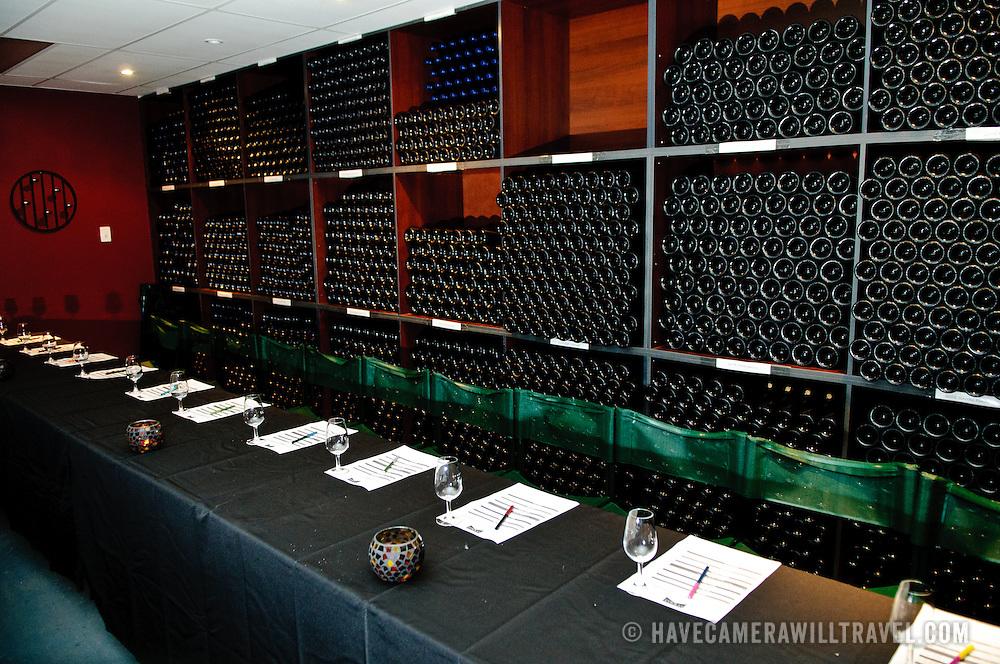 Wine tasting room at Summit Estate Winery in Stanthorpe, Queensland