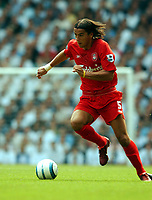 Milan Baros<br />Liverpool 2004/05<br />Tottenham Hotspur v Liverpool (1-1) 14/08/04<br />The Premier League<br />Photo Robin Parker Fotosports International