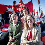 © Maria Muina I MAPFRE. Las consellers de sanidad, agricultura y vivienda; Carmen Montón, Elena Cebrián y María José Salvador respectivamente en el MAPFRE.