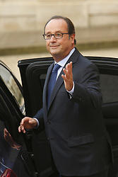 September 15, 2017 - Paris, France, France - Francois Hollande (Credit Image: © Panoramic via ZUMA Press)