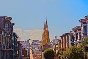 Saints Peter and Paul Church on Filbert Street in San Francisco