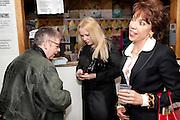JO BRAND;  PAMELA STEPHENSON; KATHY LETTE , Gala performance of  RUBY WAX- LOSING IT  in aid of  Comic Relief. Menier Theatre. London. 23 February 2011. -DO NOT ARCHIVE-© Copyright Photograph by Dafydd Jones. 248 Clapham Rd. London SW9 0PZ. Tel 0207 820 0771. www.dafjones.com.