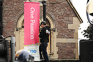 EDL (English Defence League) and UAF (Unite Against Fascism) demonstrate in Leicester