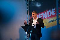 DEU, Deutschland, Germany, Königs Wusterhausen, 30.08.2019: Björn Höcke, AfD-Fraktionsvorsitzender in Thüringen, bei einer Wahlkampfveranstaltung der Partei Alternative für Deutschland (AfD).