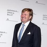 NLD/'Amsterdam/20170915 - Willem-Alexander en Máxima bij première 'Ode aan de Meester', Koning Willem Alexander