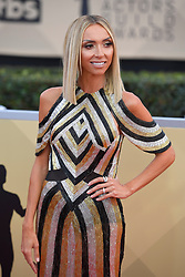 January 20, 2018 - Los Angeles, California, U.S. - GIULIANA RANCIC during red carpet arrivals for the 24th Annual Screen Actors Guild Awards, held at The Shrine Expo Hall. (Credit Image: © Kevin Sullivan via ZUMA Wire)