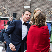 NLD/Amsterdam/20140613 - Prinses Beatrix bij de uitreiking van de Pritzker Achitecture Prize 2014, Prins Maurits