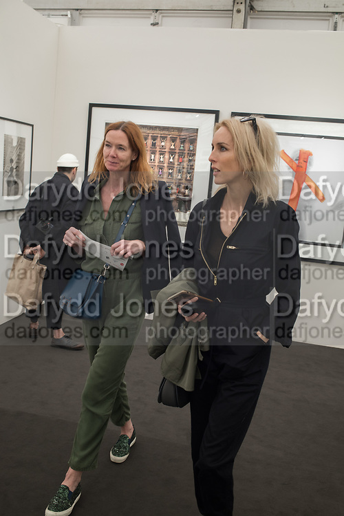 DEE STIRLING; SARAH WOODHEAD, Opening of Photo London, 2018. Somerset House. London. 16 May 2018