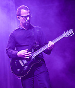Tony Rombola, lead guitar, backing vocals for Godsmack 2019 Fall Tour October 13th, 2019 in Ontario, California at the Toyota Arena