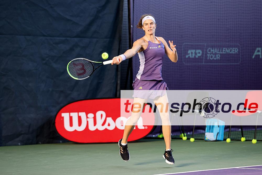 Im Bild: Kathinka VON DEICHMANN (LIE) [7] <br /> <br /> Tennis Future Hamburg - ITF-W25 Hamburg, Hamburg, Tennis-Verband Hamburg, 12.01.2021, <br /> <br /> Foto: Claudio Gärtner