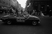 17/11/1966<br /> 11/17/1966<br /> 17 November 1966<br /> Santa Claus on Grafton Street, Dublin. Santa Claus advertising Todco store on Henry Street.