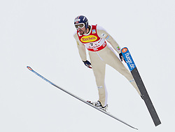 16.12.2011, Casino Arena, Seefeld, AUT, FIS Nordische Kombination, Ski Springen Team HS 109, im Bild Magnus H. Moan (NOR) // Magnus H. Moan of Norway during Ski jumping the team competition at FIS Nordic Combined World Cup in Sefeld, Austria on 20111211. EXPA Pictures © 2011, PhotoCredit: EXPA/ P.Rinderer
