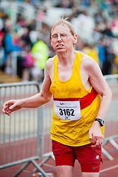 Sheffield Half Marathon runners race for the Finish Line Sunday Morning...12 May 2013.Image © Paul David Drabble